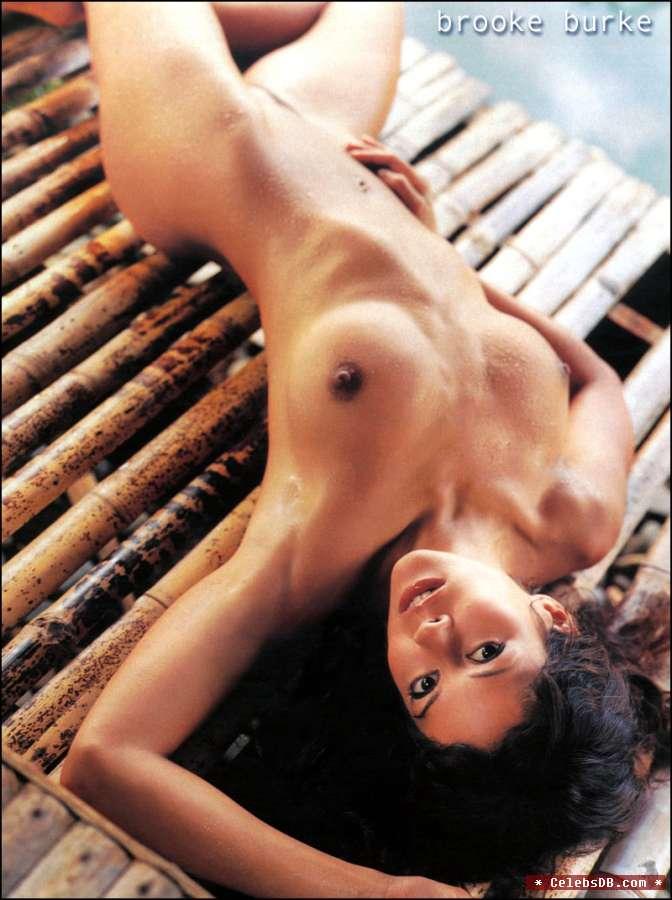 Naked brooke burke Brooke Burke