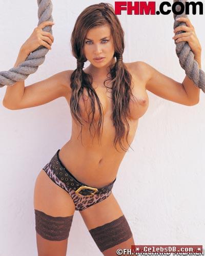Carmen Electra Topless A4